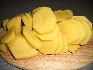 Sliced Potatoes