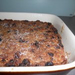 Finished Bread Pudding
