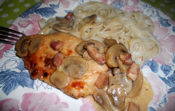 Chicken Breasts Sherry and Mushrooms
