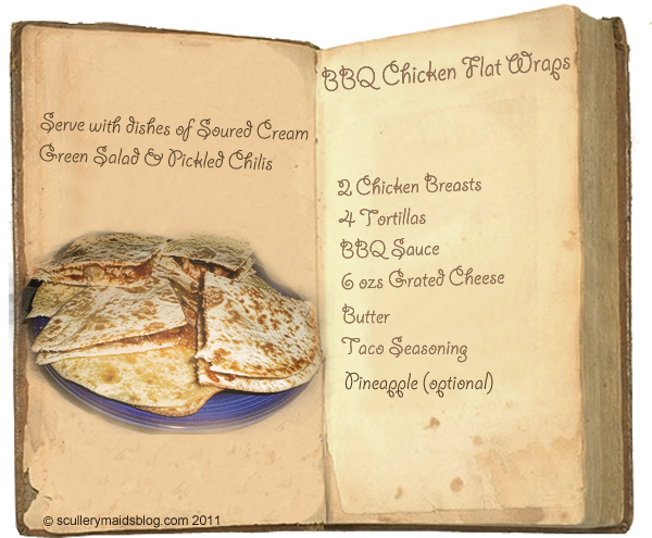Recipe for Chicken Tortilla