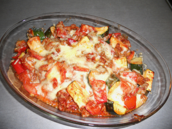 Cheese and Meat Ratatouille