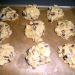 Place Heaps on Baking Tray