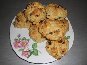 Old Fashoined Fruit Rock Cakes