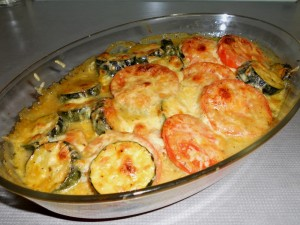 Baked Cheese Ratatouille