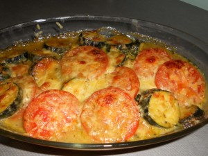 Baked Ratatouille with Cheese