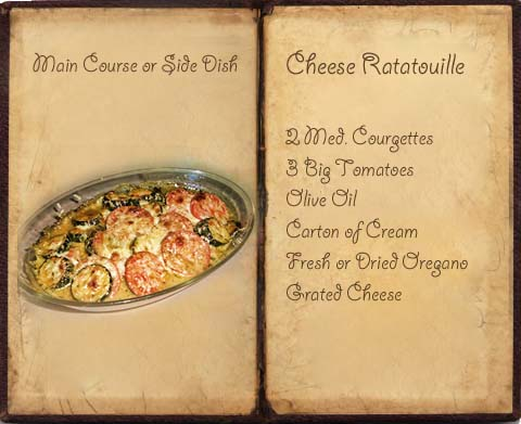 Cheese Ratatouille Recipe