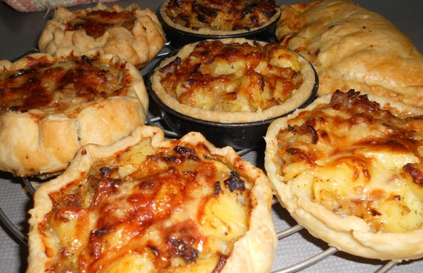 Cooked Homity Pies