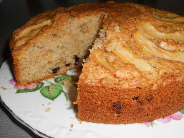 Recipe Cranberry and Apple Spice Cake