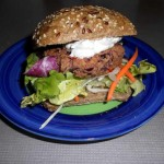 Spicy Kidney Bean Burger