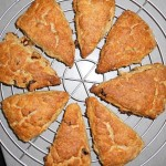 Sultana Ginger and Lemon Scones