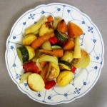 Portion Roasted Vegetables