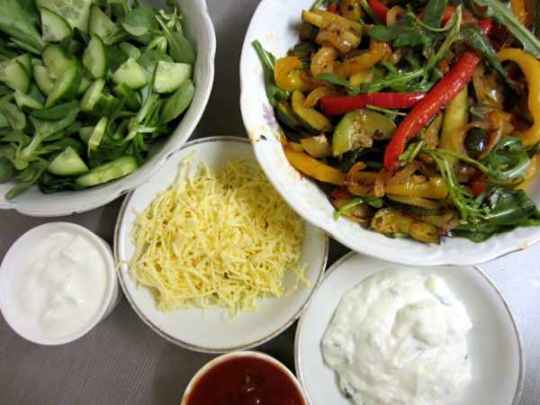 Vegetarian Fajitas