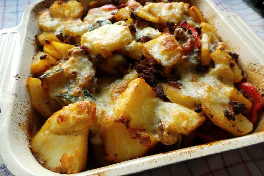 meat vegetable bake
