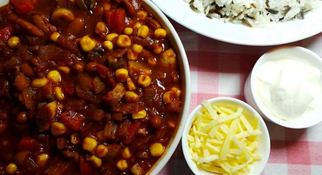 smoky vegetarian chili