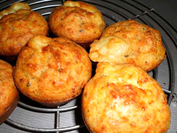 Recipe Carrot and Cheese Muffins